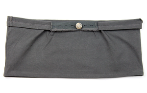 Belly Button Band - Maternity Band (Dark Gray)