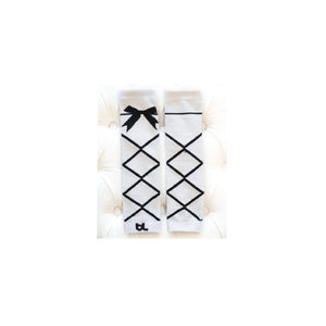 Baby Leggings - Dancing Queen White