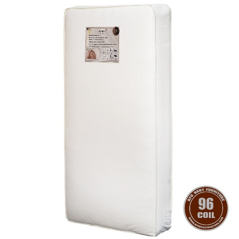 AFG 96 Coil Baby Crib Mattress - MT-96 -  AFG Furniture International Nursery Accessories - Nurzery.com