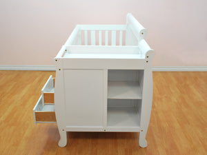 AFG Kimberly 4-in-1 Convertible Crib and Changer Combo - 518 -  AFG Furniture International All Cribs - Nurzery.com - 4