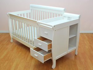 AFG Kimberly 4-in-1 Convertible Crib and Changer Combo - 518 -  AFG Furniture International All Cribs - Nurzery.com - 5