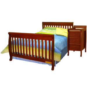 AFG Kimberly 4-in-1 Convertible Crib and Changer Combo - 518 -  AFG Furniture International All Cribs - Nurzery.com - 9
