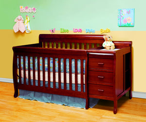 AFG Kimberly 4-in-1 Convertible Crib and Changer Combo - 518 -  AFG Furniture International All Cribs - Nurzery.com - 14