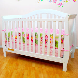 AFG Furniture Desiree Convertible Crib - 309 - White AFG Furniture International All Cribs - Nurzery.com - 3