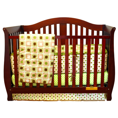 AFG Furniture Desiree Convertible Crib - 309 - Cherry AFG Furniture International All Cribs - Nurzery.com - 1