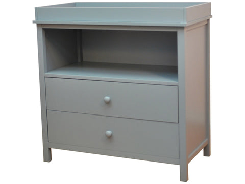 AFG International Amber 2 Drawer Changer - 007 - Gray AFG Furniture International Dresser - Nurzery.com - 1