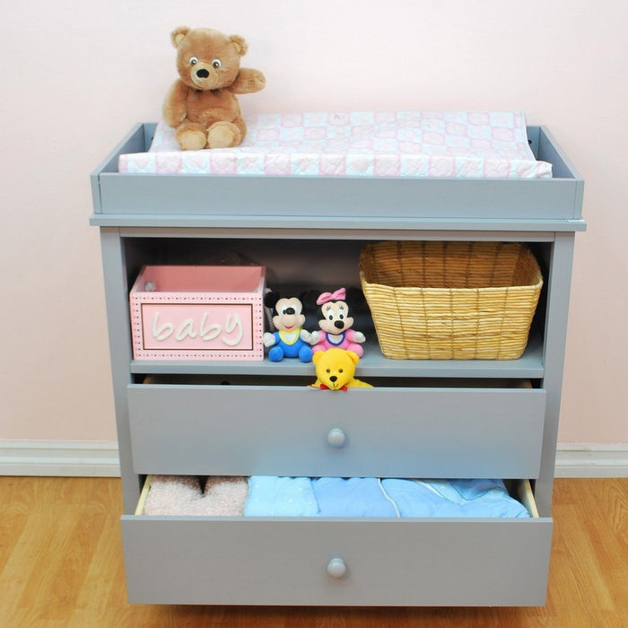 AFG Baby Furniture - Amber 2 Drawer Changer - 007