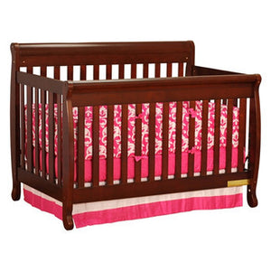 AFG Furniture International Alice 4-in-1 Sleigh Convertible Crib - 4689 - Cherry AFG Furniture International All Cribs - Nurzery.com - 3
