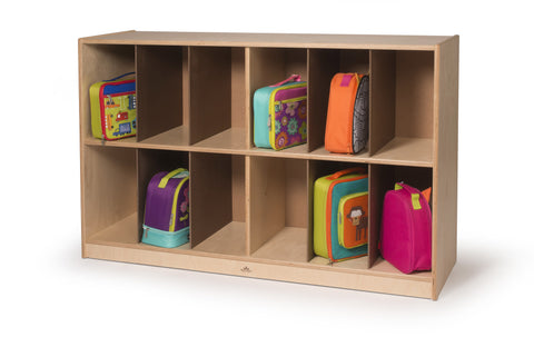 Whitney Brothers Big Backpack Storage WB1408 -  Whitney Bros Storage Cabinet - Nurzery.com