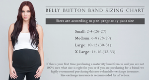 Belly Button Band - Body Band (Light Gray)