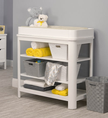 Sorelle Chandler Dressing Table with Topper 71-W -  Sorelle Changing Table - Nurzery.com