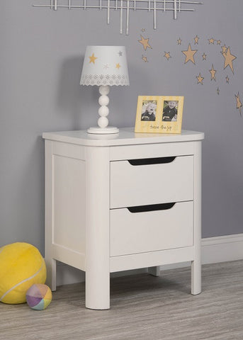 Sorelle Chandler Nightstand 7580W -  Sorelle Changing Table - Nurzery.com