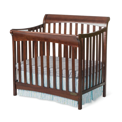 Child Craft Ashton 4-in-1 Mini Convertible Crib - Select Cherry Child Craft All Cribs - Nurzery.com - 1