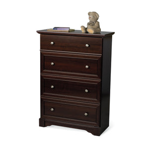 Child Craft Updated Classic 4 Drawer Chest F01302 - Select Cherry Child Craft Dresser - Nurzery.com - 2