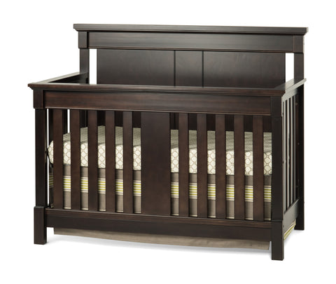 Child Craft Bradford Convertible Crib 4 in 1 F32401 - Rich Java Child Craft All Cribs - Nurzery.com - 1