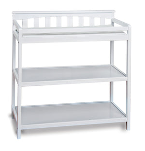 Child Craft Nursery Changing Table F01116.07 - Matte White Child Craft Dresser - Nurzery.com - 2