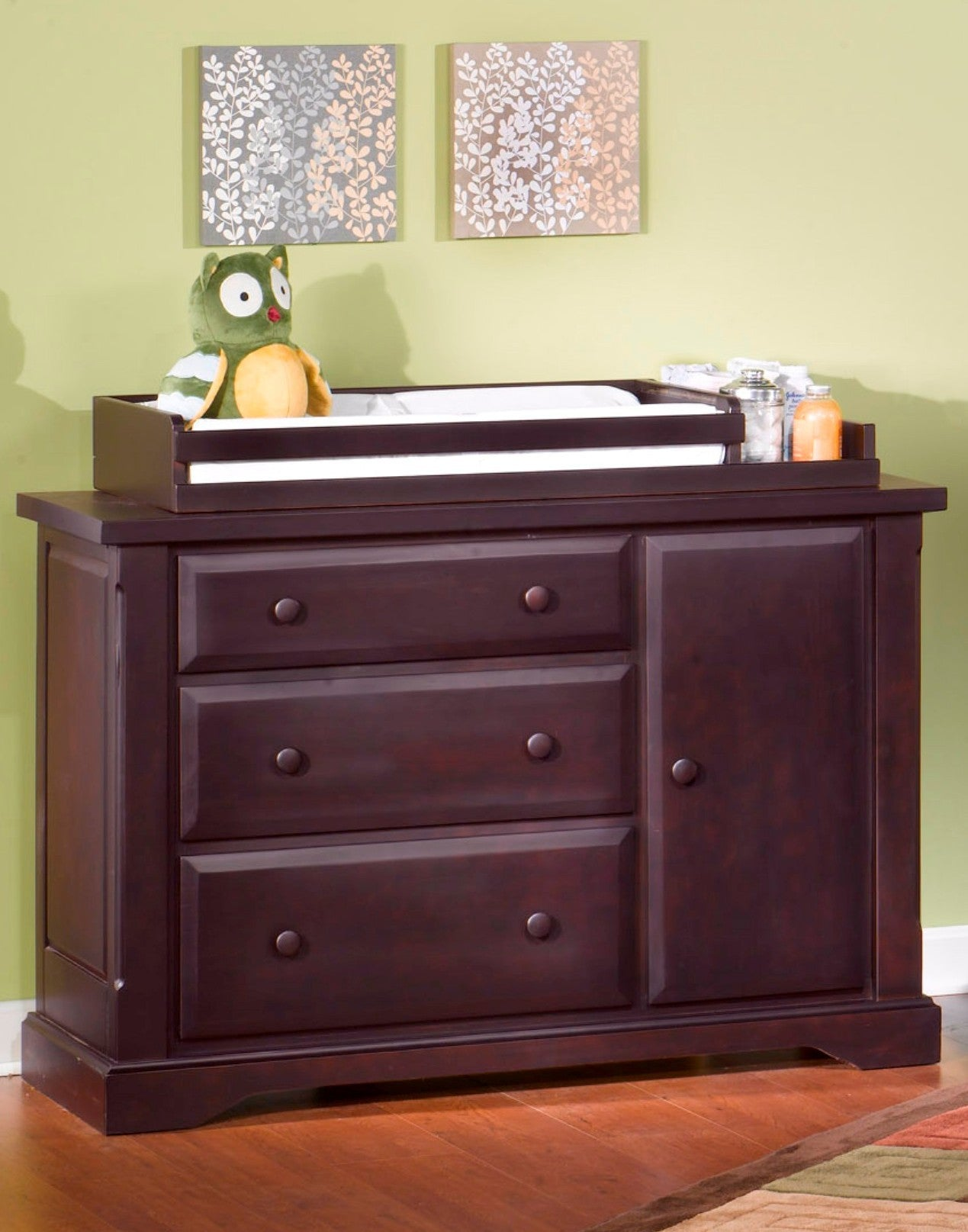 ... Child Craft Hawthorne Dressing Bureau Espresso   Child Craft Nursery  Furniture   Nurzery.com