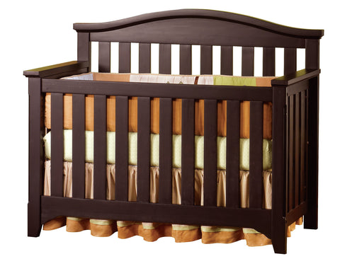 Child Craft Hawthorne Convertible Crib in Espresso -  Child Craft All Cribs - Nurzery.com - 1