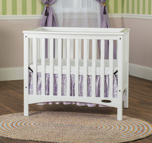 Child Craft London Euro Mini Convertible Crib - Matte White Child Craft Portable - Nurzery.com - 3
