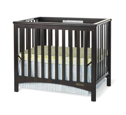 Child Craft London Euro Mini Convertible Crib -  Child Craft Portable - Nurzery.com - 1