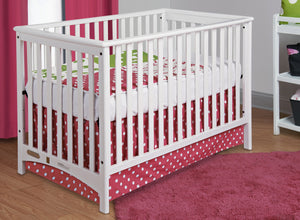 Child Craft London Traditional Euro Crib F10031 - Matte White Child Craft All Cribs - Nurzery.com - 3