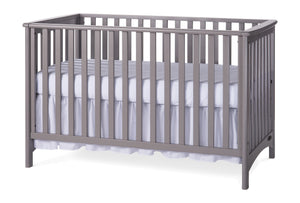Child Craft London Traditional Euro Crib F10031 - Cool Gray Child Craft All Cribs - Nurzery.com - 4