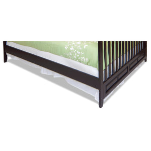 Child Craft Bed Rails (London Euro Mini) Jamocha F06484.07 -  Child Craft Bed Rails - Nurzery.com