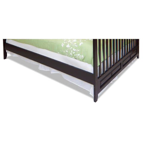 Child Craft Bed Rails (Ashton Mini, London Euro Mini) Matte White F06484.46 -  Child Craft Bed Rails - Nurzery.com