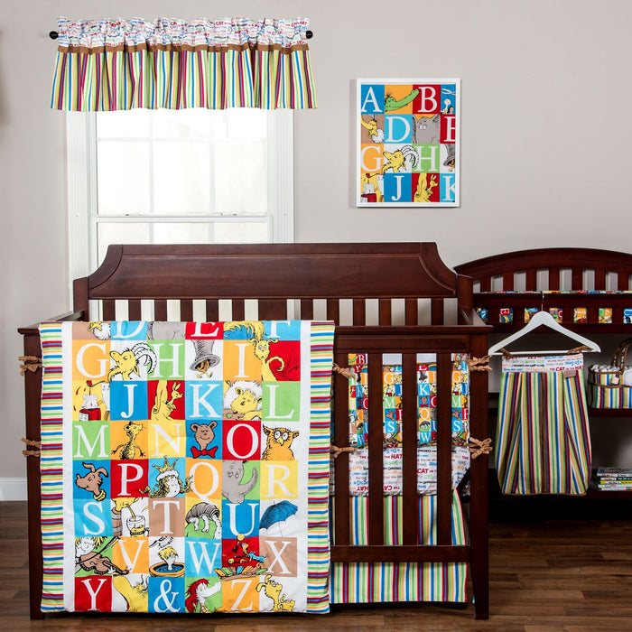 Dr. Seuss™ - Alphabet Seuss - 3 Piece Crib Bedding Set