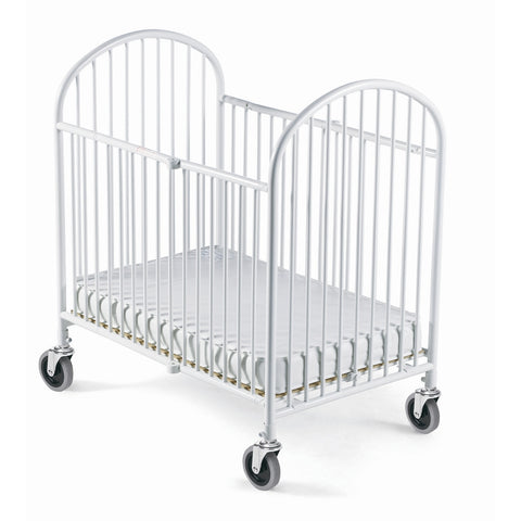 Foundations Compact Folding Crib W/ Mattress - White - 1331107 -  Foundations All Cribs - Nurzery.com - 1