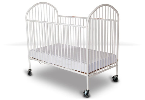 Foundations Pinnacle Full Size Crib, Folding White - 1311097