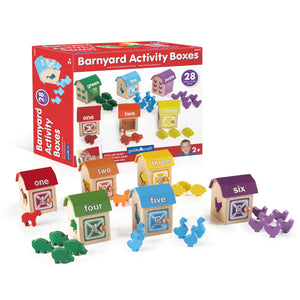 Guidecraft - Barnyard Activity Boxes - G5059