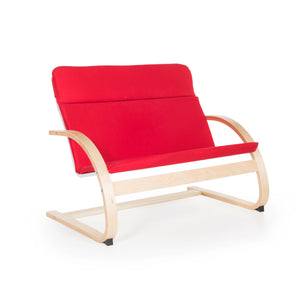 Guidecraft - Nordic Couch Red - G6451K