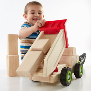 Guidecraft Block Science - Big Dump Truck (G7531)