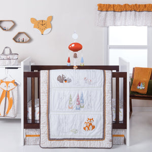Trend Lab® - Gnome Boy 4 Piece Crib Bedding Set