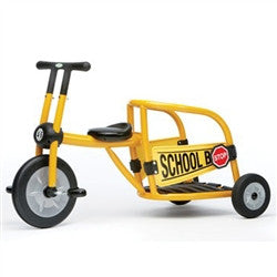 Italtrike School Bus Tricycle - 9031SB -  Italtrike Tricycle - Nurzery.com