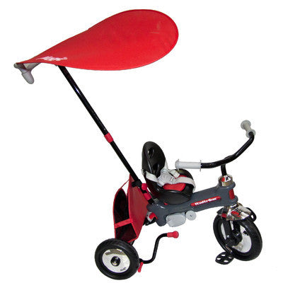Italtrike Azzurro Push Stroller / Tricycle - Red - 2400RED -  Italtrike Tricycle - Nurzery.com