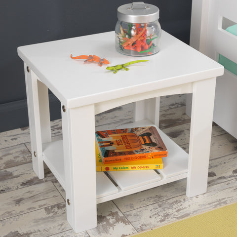 KidKraft Addison Toddler Table White - 76268 -  Kid Kraft Pretend Play - Nurzery.com