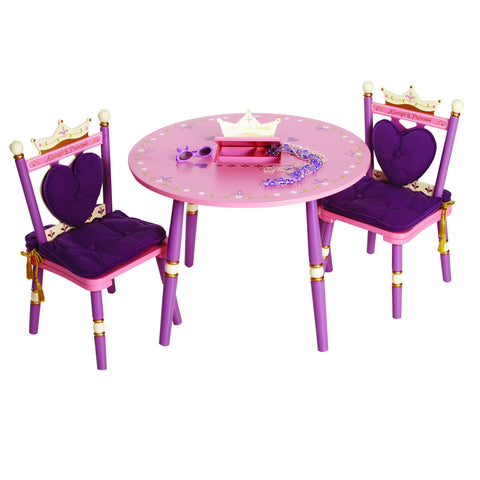 Levels of Discovery Princess Table & 2 Chair Set - LOD20008S -  Levels of Discovery Furniture - Nurzery.com