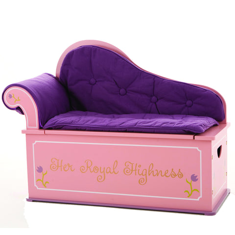 Levels of Discovery Princess Fainting Couch w/ Storage - LOD20053 -  Levels of Discovery Furniture - Nurzery.com - 1