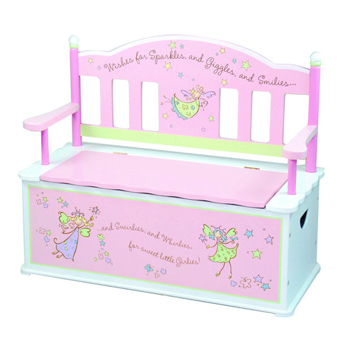 Levels of Discovery Fairy Wishes Bench Seat w/ Storage - LOD61001 -  Levels of Discovery Furniture - Nurzery.com