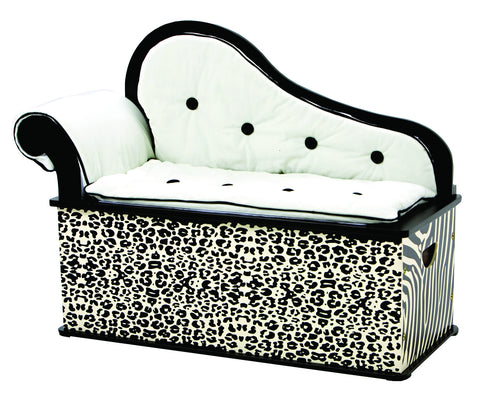 Levels of Discovery Wild Side Bench Seat w/ Storage - LOD71001 -  Levels of Discovery Furniture - Nurzery.com