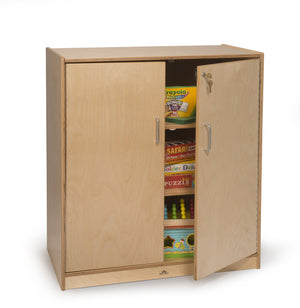 Whitney Brothers Lockable Supply Cabinet WB1414 -  Whitney Bros Storage Cabinet - Nurzery.com
