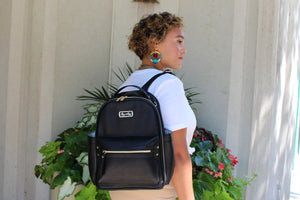 Itzy Ritzy - Black Itzy Mini™ Diaper Bag Backpack