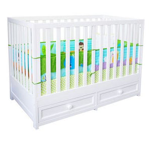 AFG Baby Furniture - Marilyn 3-in-1 Modern Crib - 668