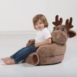 Trend Lab® - Children's Plush Moose Character Chair