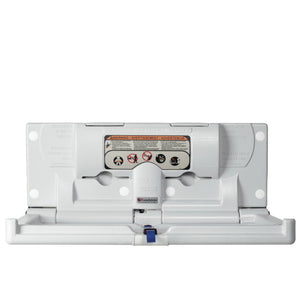 Foundations Horizontal Surface Mount Changing Station White - 100-EH-BP -  Foundations Changing Cabinet - Nurzery.com - 1
