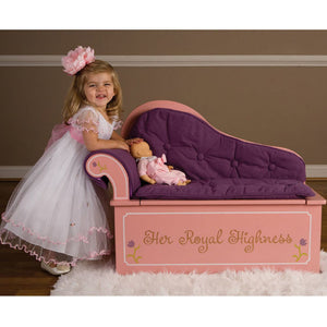 Levels of Discovery Princess Fainting Couch w/ Storage - LOD20053 -  Levels of Discovery Furniture - Nurzery.com - 4