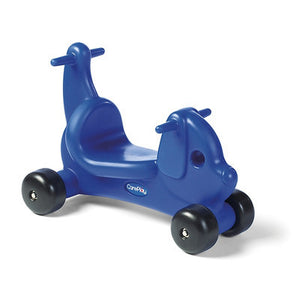 CarePlay Puppy Push/Scoot Ride-On - Blue CarePlay Tricycle - Nurzery.com - 1