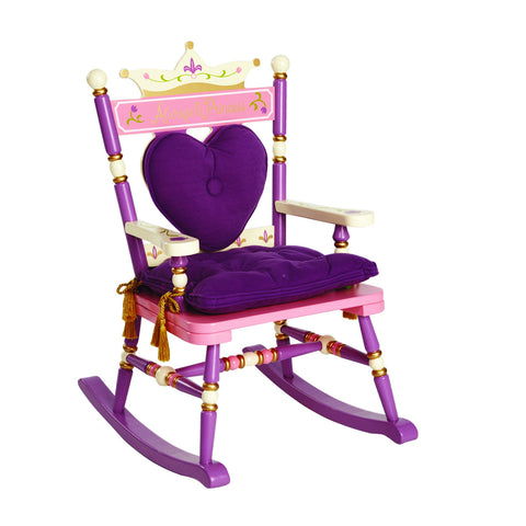 "Levels of Discovery Royal Rocker ""Princess"" - RAB00009 -  Levels of Discovery Furniture - Nurzery.com"
